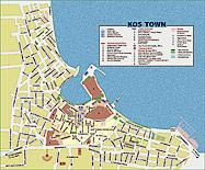 La citt di kos informazioni sul capoluogo dell 39 isola di kos for Kos villaggi italiani
